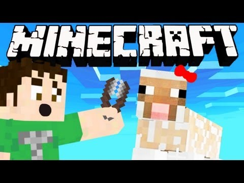 Minecraft: DIRTY NAKED SHEEP GIRL