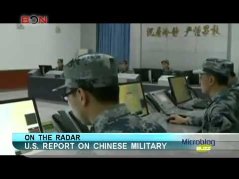 U.S. report on Chinese military-Microblog buzz-May 9, 2013-BON TV China