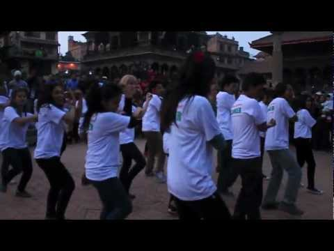 Flashmob World Cancer Day