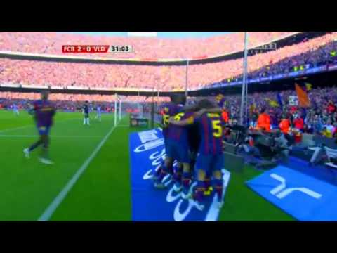FC BARCELONA - REAL VALLADOLID  4- 0 By ALFREDO MARTINEZ