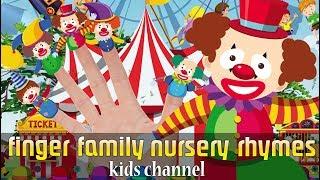 Clowns Finger Family Song | Nursery Rhyme For Kids Children & Babies