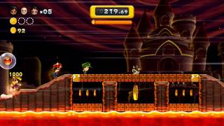 New Super Mario Bros U Gameplay on Boost Mode!! HD