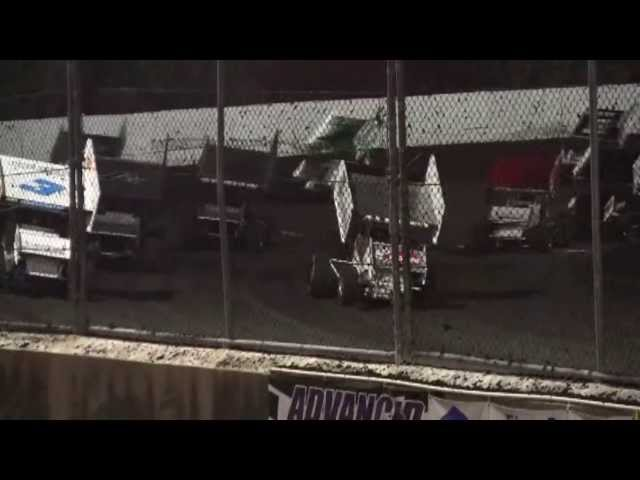 Petaluma Speedway King of the West Series 410 Sprint Car Feature May 11, 2013