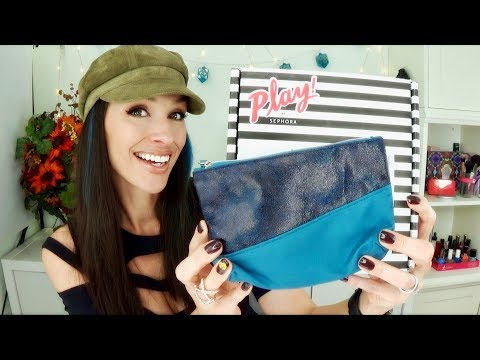 Ipsy and Play! by Sephora Unboxing and Review November 2017