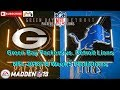 Green Bay Packers Vs Detroit Lions NFL 2018 19 Week 5 Predictions Madden NFL 19 mp3