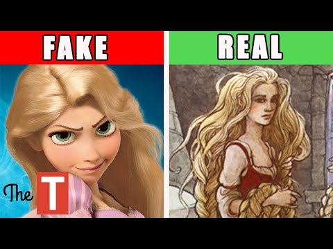 The Disturbing REAL STORY Behind Disney's Tangled