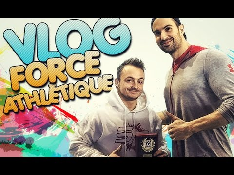 FORCE ATHLETIQUE - VLOG France jeunes 2016