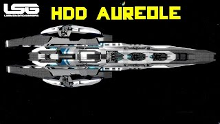 Space Engineers - Aureole Mega Ship