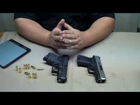 XDs 9mm & Glock 26: Size & Feature Comparison