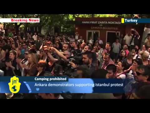 Turkey Protest Dispersal: Police in Ankara force protesters to leave
