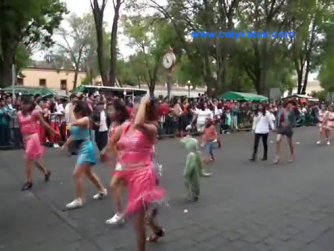 Desfile carnaval Tlaxcala 2015 parte 1