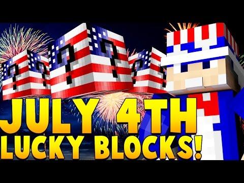 AMERICA LUCKY BLOCK MOD CHALLENGE | Minecraft - Lucky Block Mod
