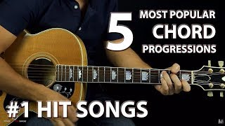 Download Lagu 5 Most Popular Chord Progressions of ALL-TIME Gratis STAFABAND
