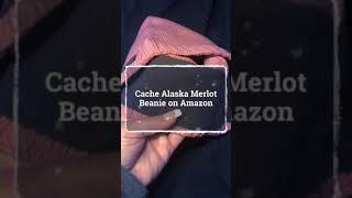 Cache Alaska Merlot Beanie