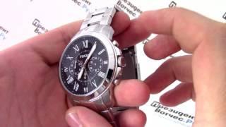 Часы Fossil FS4736 - видео обзор от PresidentWatches.Ru