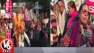 Women Association Leaders Protest Against Haryana Govt In Delhi