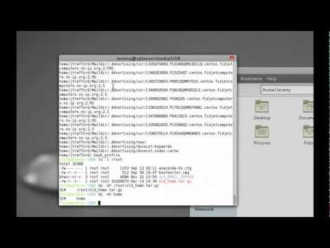 Mounting external LVM hard drives - Linux