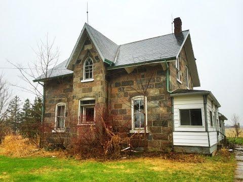 Urban Exploration: Unique Abandoned Stone Farm House
