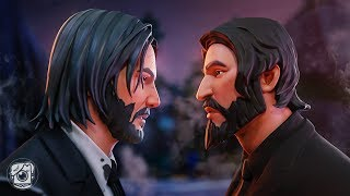 JOHN WICK vs. JOHN WICK *SEASON 9* (A Fortnite Short Film)
