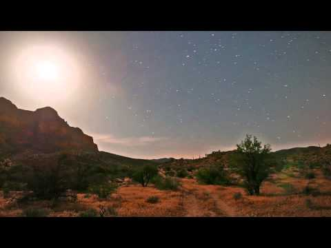 (Short) Night Sky Timelapse at Picket Post Mountain Trailhead, Arizona (Lumix LX100)