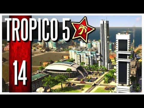 Tropico 5 - Ep.14 : Skyscapers & Stadium!