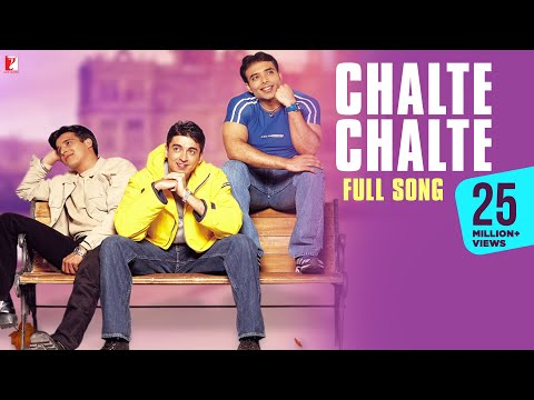 Chalte Chalte - Full Song - Mohabbatein video