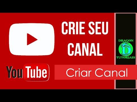 Como criar um canal ou conta no Youtube thumbnail