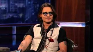 Johnny Depp on Jimmy Kimmel Live [Full 2012 interview]