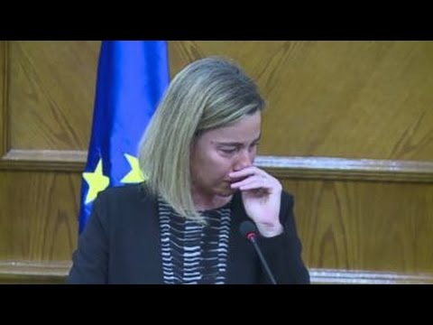Brussels Explosions | EU Official Breaks Down In Tears