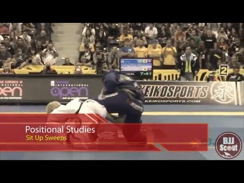 BJJ Scout: Positional Studies - Sit Up Sweeps (Cobrinha, Otavio Sousa, Rodolfo Vieira) Image 1