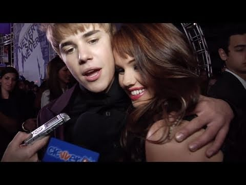 We Met Justin Bieber! Never Say Never Premiere Interview With Debby Ryan Music Videos