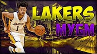 NBA 2K17 Lakers MyGM Ep.2 | First game! and evaluating our players