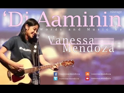 Vanessa Mendoza - 'Di Aaminin (UNOFFICIAL LYRIC VIDEO)