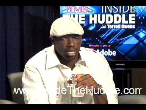 Terrell Owens vs Keyshawn Johnson (candid talk during break)