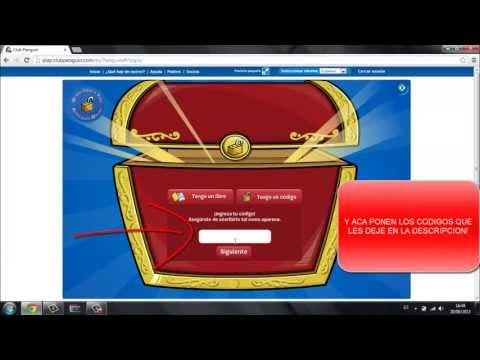 Códigos Reutilizables para Club Penguin 2013