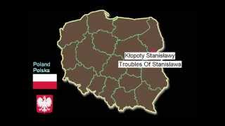 Funny Names of Polish Cities And Villages - part 1 [ Map of Poland ]