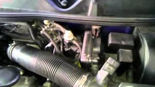 Test vacuum - podtlak - 1.9TDI 81KW - AHF
