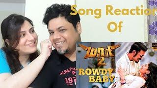 #RowdyBaby #Maari2 Maari 2 - Rowdy Baby (Video Song Reaction)|Foreigner VS Indian Reaction|