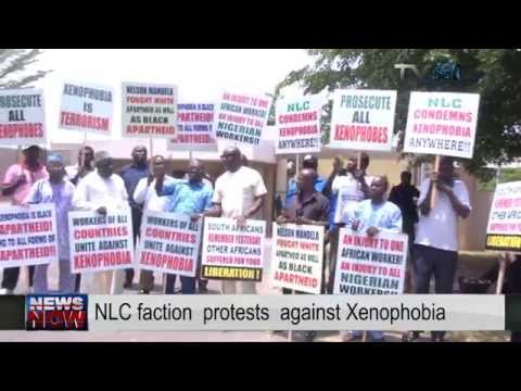 Nigeria Labour Congress faction protest against South African Xenophobia