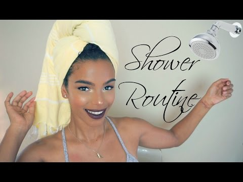 My Basic Shower Routine   SunKissAlba