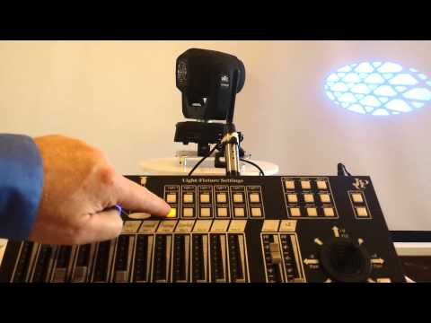 JPC Lighting Moving Head Controller 2.0 How-to Simple Show Example