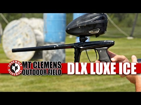 DLX Luxe Ice Review & Efficiency Test Paintball Gun | Lone Wolf Paintball Michigan