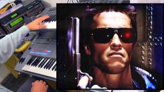 Terminator Soundtrack Cover - on Tyros5 & Omnisphere