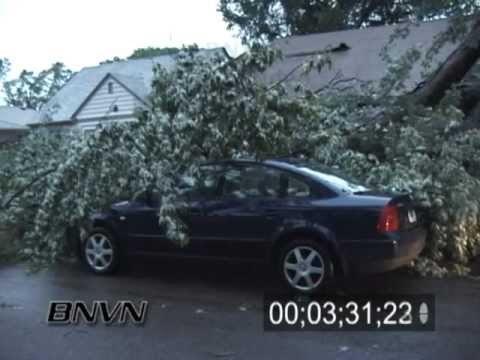 6/25/2003 Storm damage and aftermath video