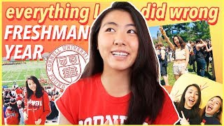 everything I wish I knew before college: 10 Things You MUST Know for Freshman Year!  | Katie Tracy