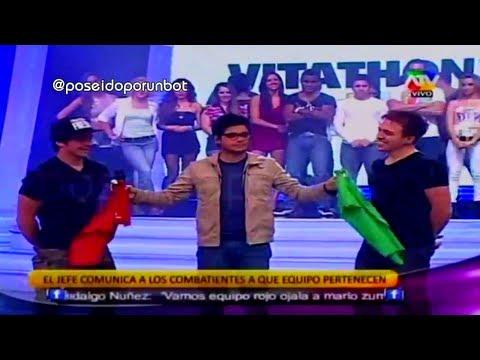 COMBATE: Presentacion de los Nuevos Equipos en la Cuarta Temporada PRIMERA PARTE 12/08/13