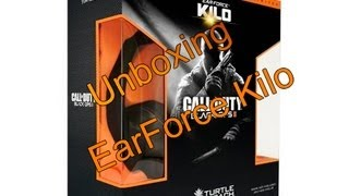 Unboxing Turtle Beach EarForce Kilo (Black Ops 2)