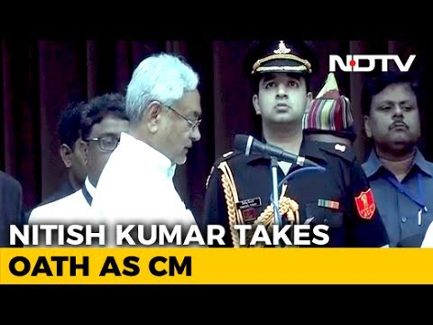 Nitish Kumar Takes Oath As Chief Minister, BJP Joins Government