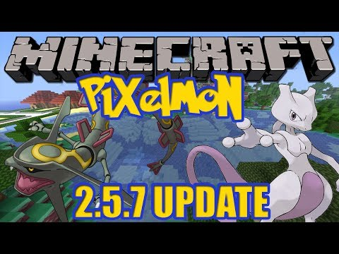 Minecraft Pixelmon 2.5.7 Update - Legendary Spawn Options. New Configure System + More!