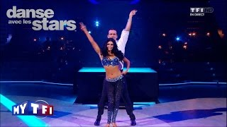 DALS S04 - Un disco avec Damien Sargue et Candice Pascal sur ''You should be dancing'' (Bee Gees)